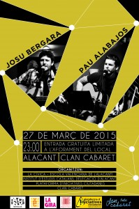 Concert Pau Alabajos Alacant